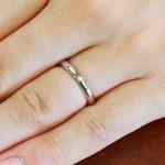 結婚指輪No1 ダイヤモンド 0.01ct プラチナ