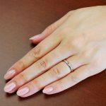 結婚指輪No1 Diamond 0.01ct プラチナ