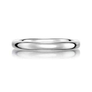 結婚指輪No1 2.5 プラチナ 後幅
