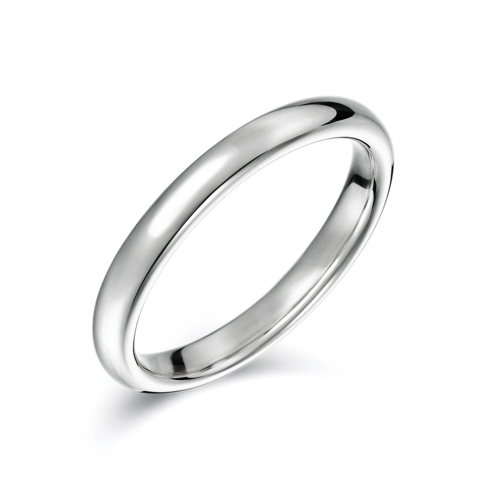 結婚指輪No1 女性用 プラチナ(幅2.5mm / Pt950)