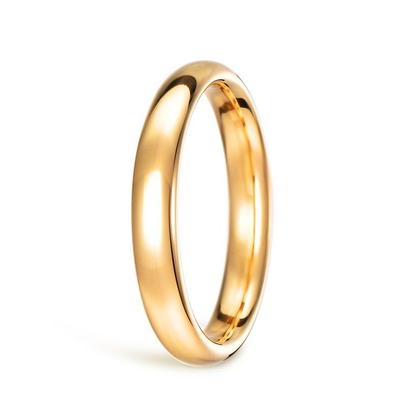 結婚指輪No1 男女兼用 ゴールド