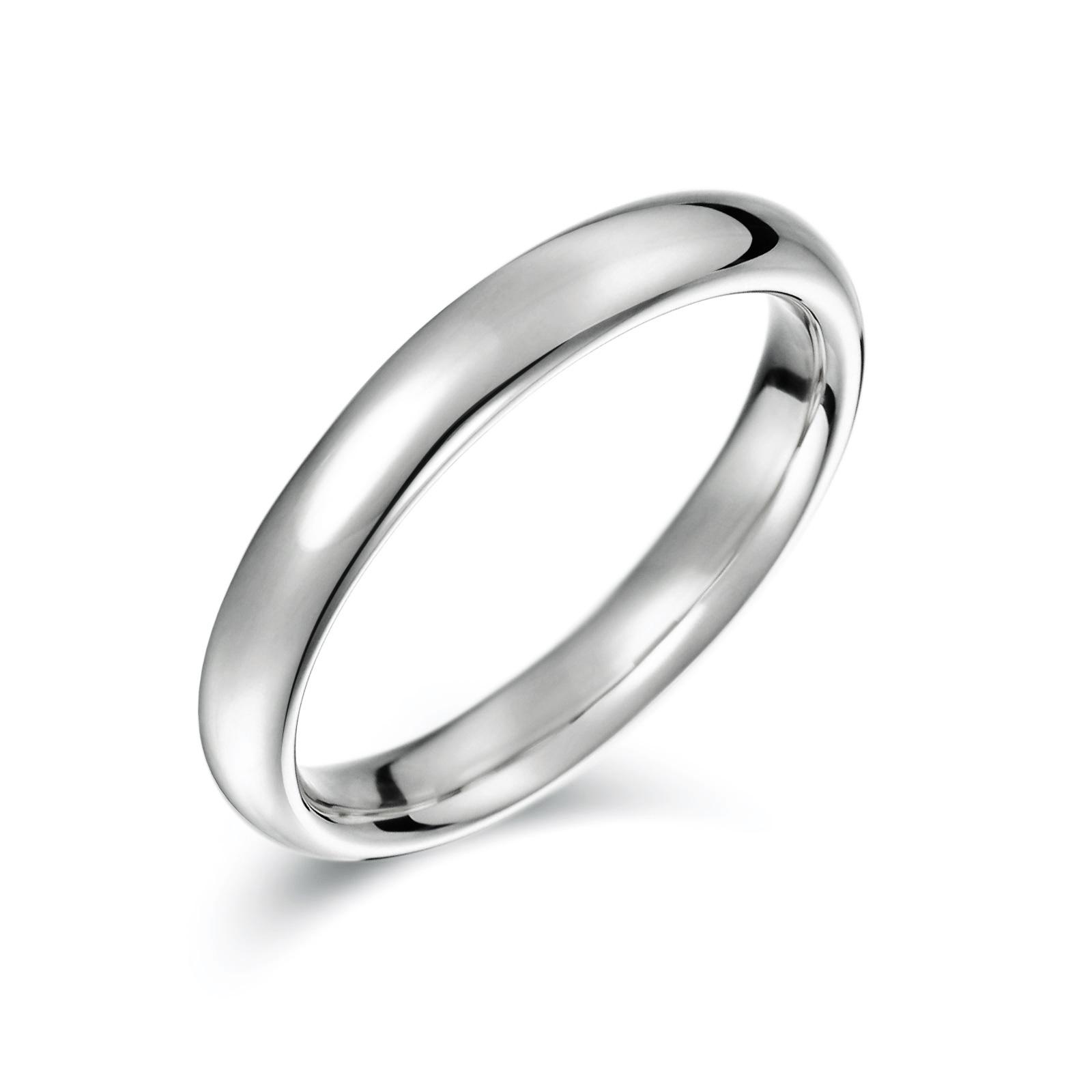 結婚指輪No1 男女兼用 プラチナ