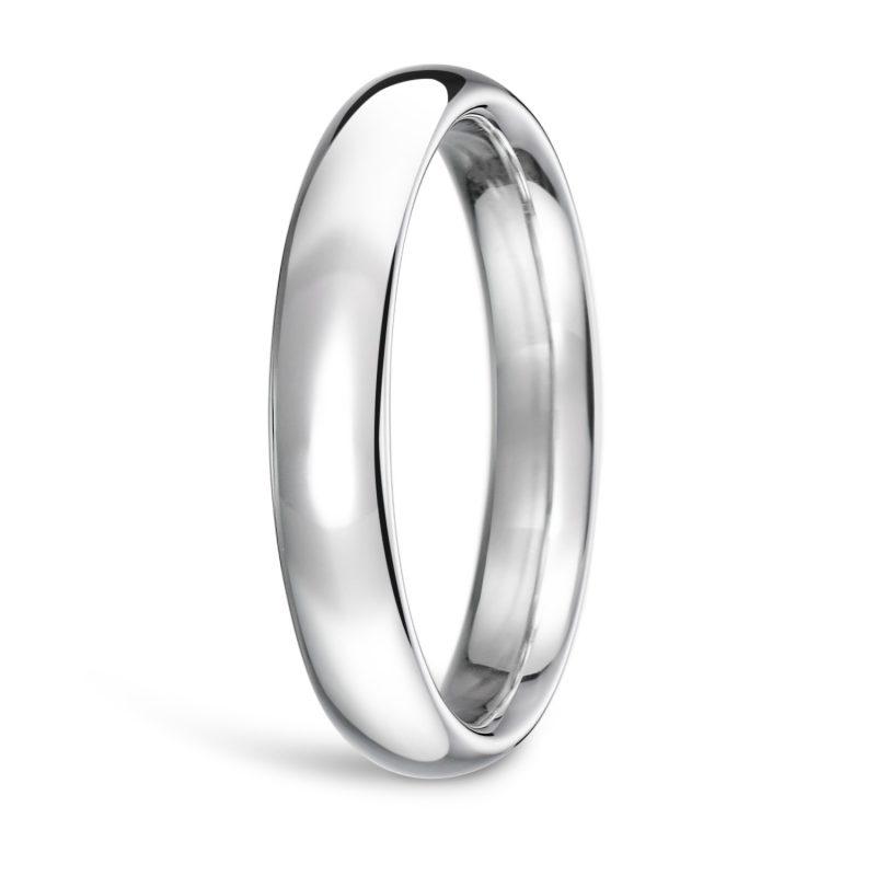 結婚指輪No1 3.5 プラチナ Men(男性用) 前幅