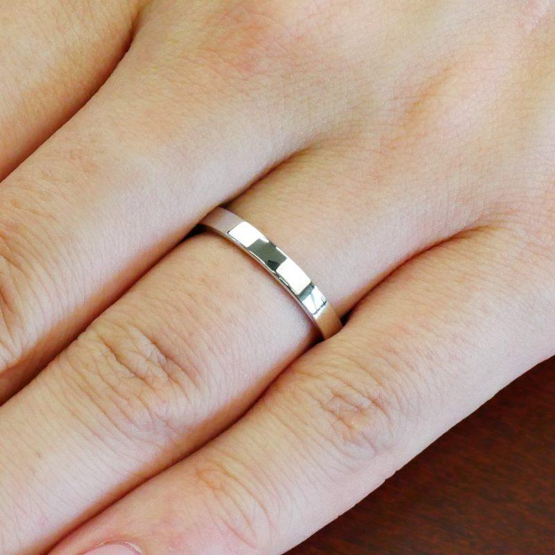 結婚指輪No2 女性用 プラチナ