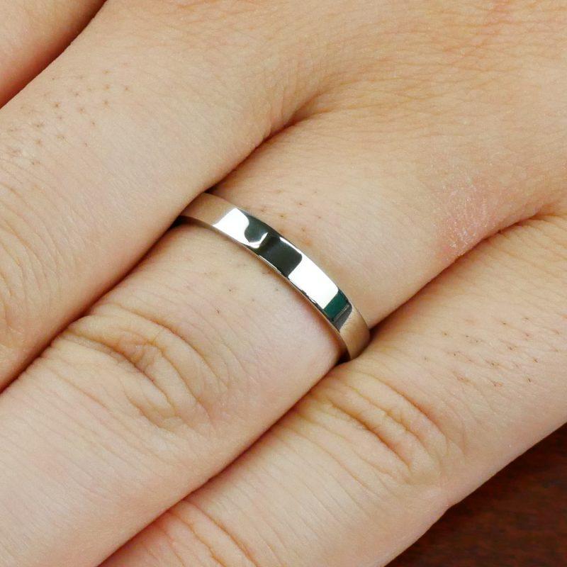 結婚指輪No2 男女兼用 プラチナ