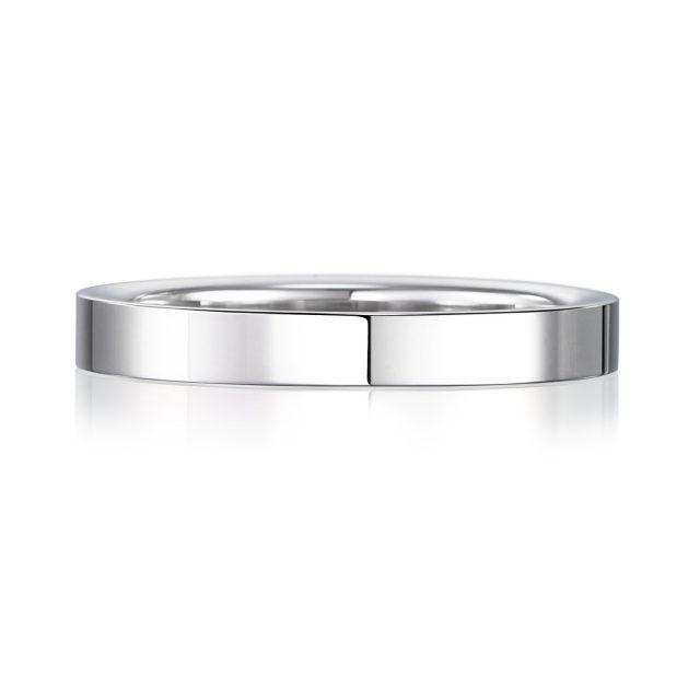 結婚指輪No2 2.5 プラチナ 後幅