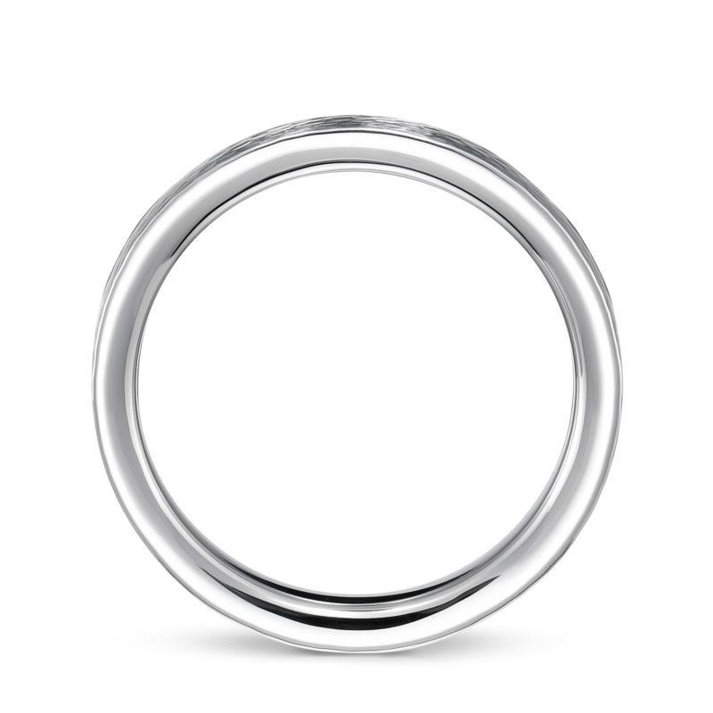 結婚指輪No2 3.0 プラチナ ハンマー・槌目 後幅