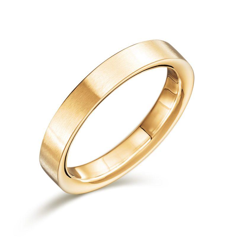 結婚指輪No2 男女兼用 ゴールド ツヤ消し