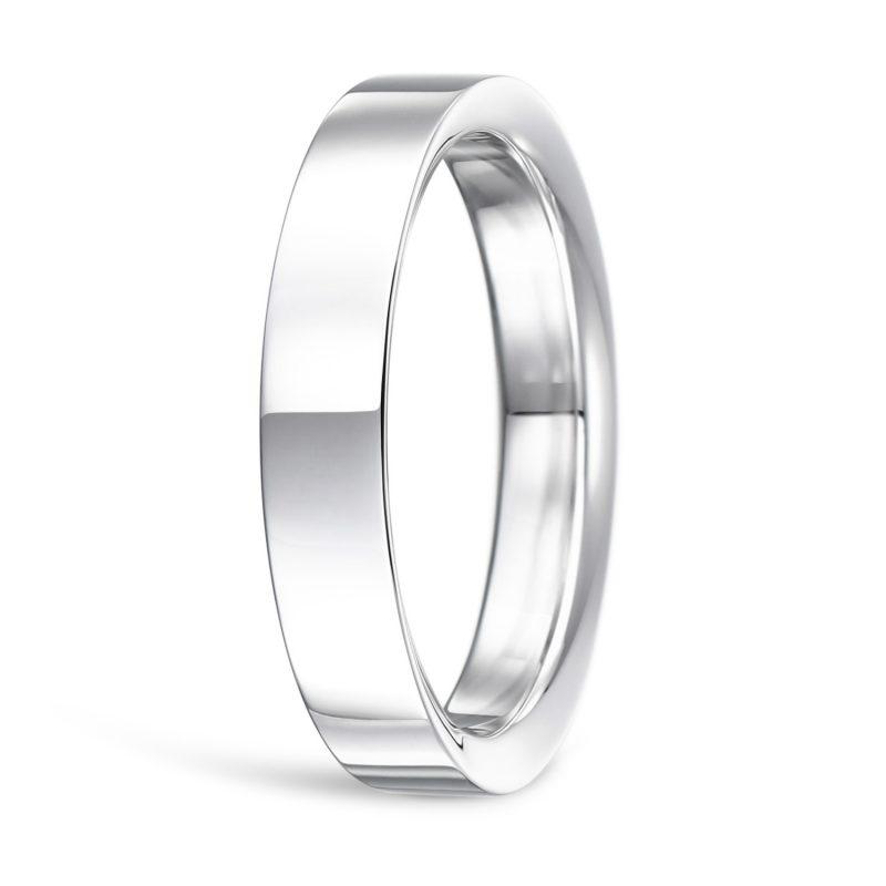 結婚指輪No2 3.5 プラチナ Men(男性用) 後幅