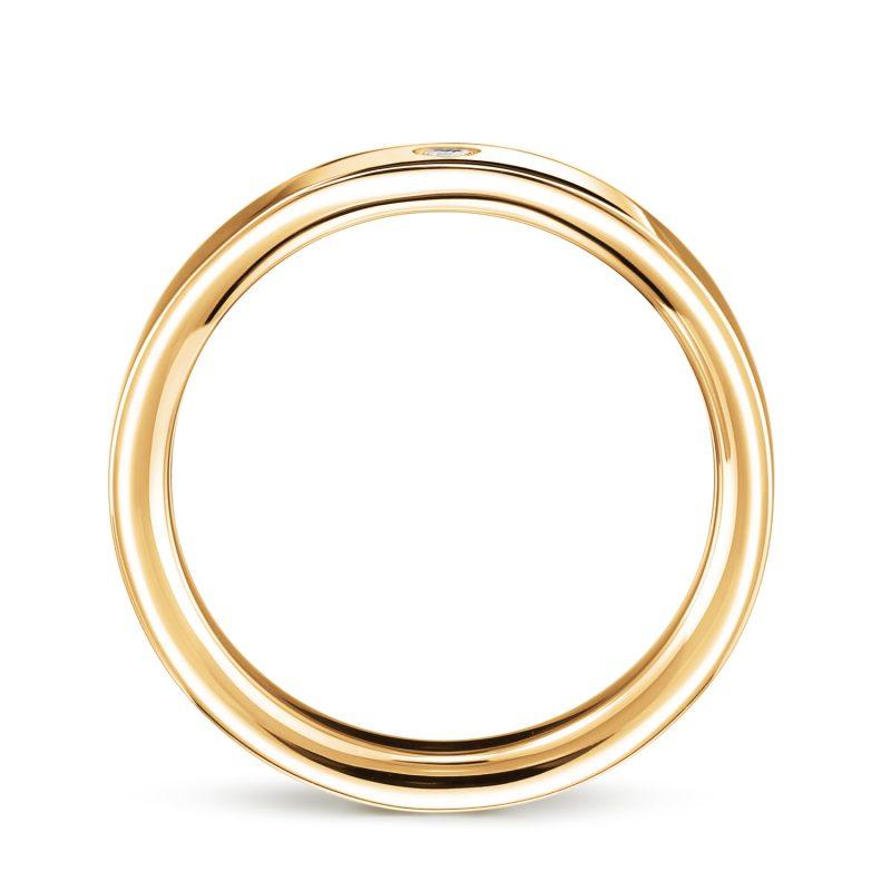 結婚指輪No2 ダイヤモンド 0.03ct ゴールド