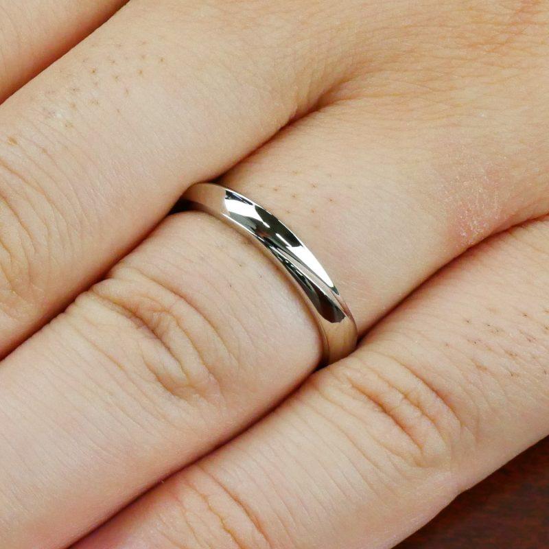 結婚指輪No3 男女兼用 プラチナ