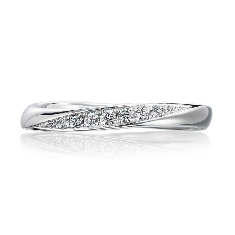 結婚指輪No3 Diamond 0.08ct プラチナ