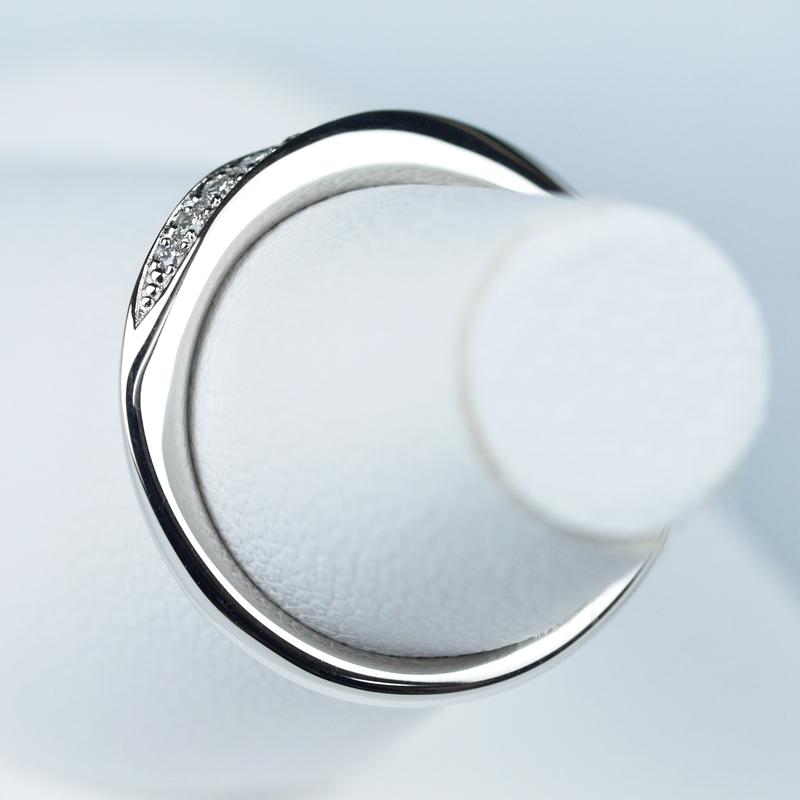 結婚指輪No3 ダイヤモンド 0.08ct プラチナ
