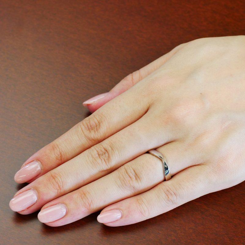 結婚指輪No5 女性用 プラチナ