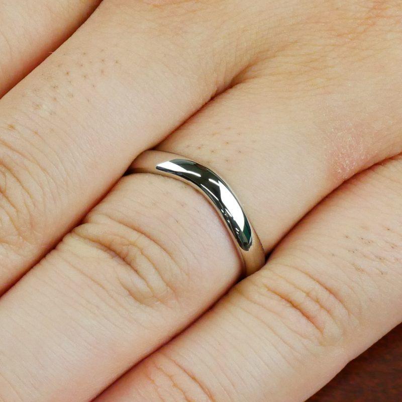 結婚指輪No6 男性用 プラチナ
