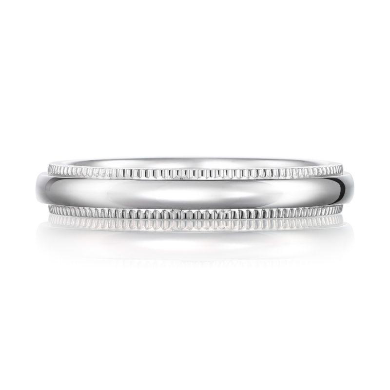 結婚指輪 ミルグレイン 女性用 プラチナ(幅3.0mm / Pt900)