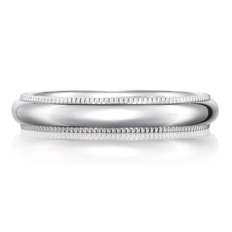 結婚指輪 ミルグレイン 男性用 プラチナ