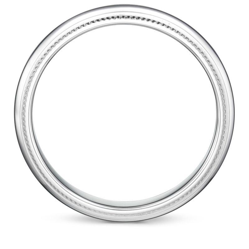 婚指輪 ミルグレイン 男性用 プラチナ