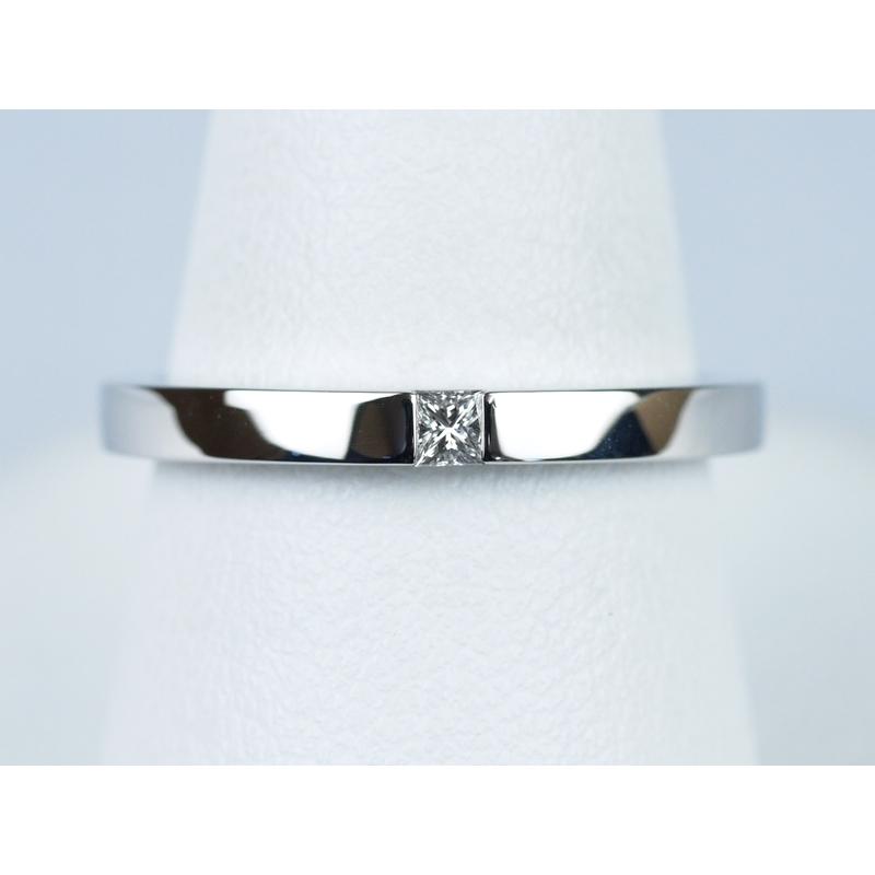 結婚指輪 プリンセスカット
