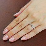 婚約指輪 Lily 0.30ct プラチナ