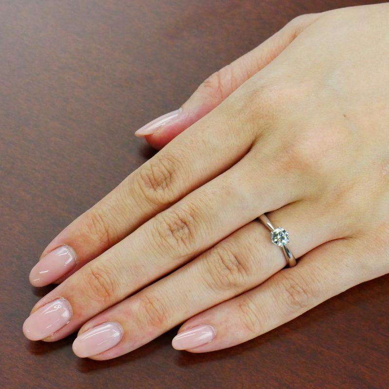 婚約指輪 Polaris 0.50ct プラチナ