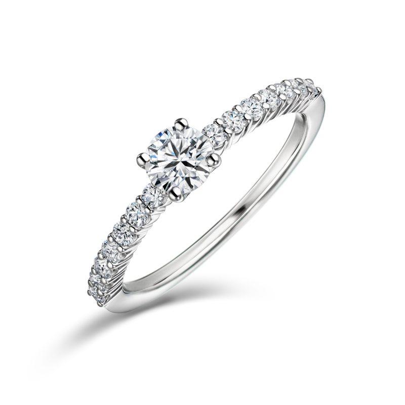 婚約指輪 Venus 0.30ctダイヤモンド プラチナ