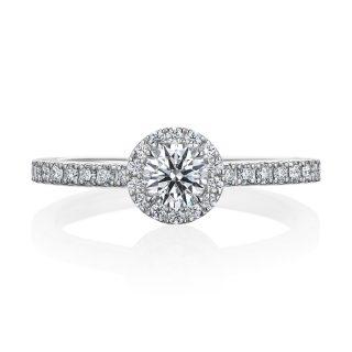 婚約指輪 0.30ctダイヤモンド プラチナ