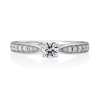 婚約指輪 Lily 0.30ctダイヤモンド プラチナ