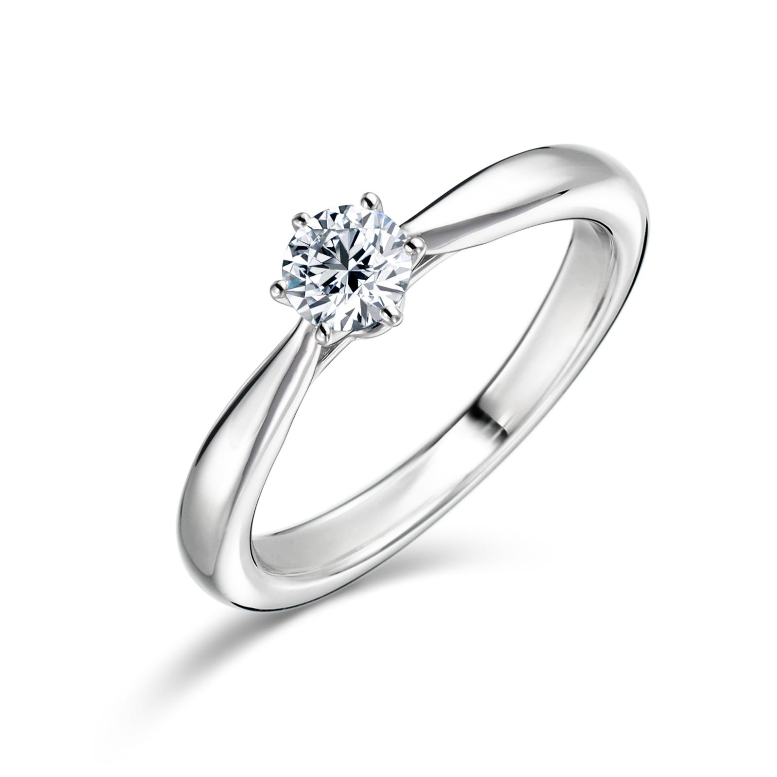 婚約指輪 Polaris 0.30ct プラチナ