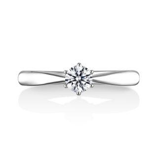 婚約指輪 Polaris 0.30ctダイヤモンド プラチナ