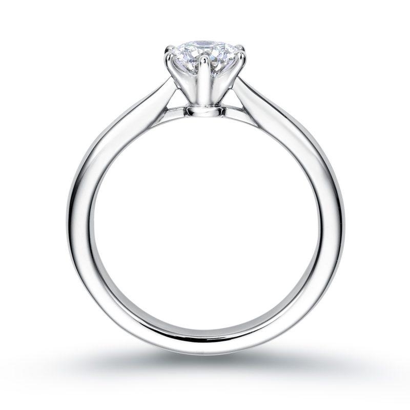 婚約指輪 0.50ctダイヤモンド プラチナ