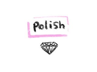 研磨 婚約指輪に使う3Excellentのダイヤモンドのイラスト