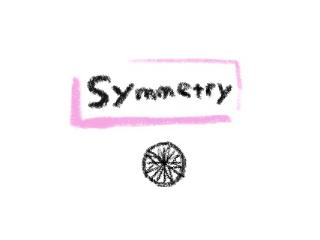 対称性 婚約指輪に使う3Excellentのダイヤモンドのイラスト