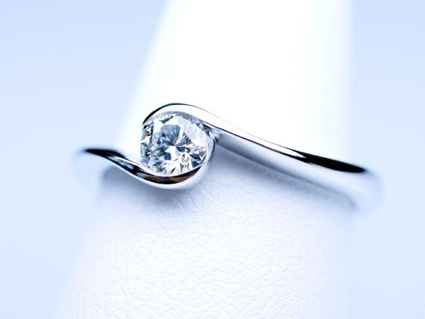 婚約指輪 オーダーメイド 一粒