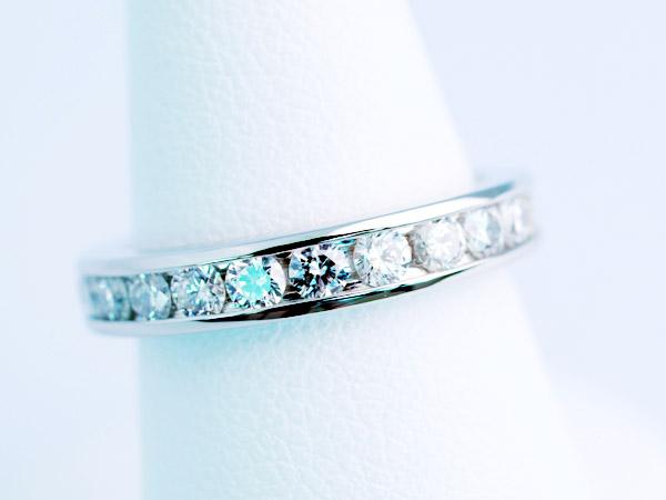 フルエタニティ 婚約指輪 プラチナ