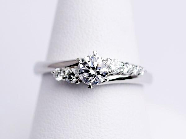 婚約指輪 0.4カラット 沖縄県沖縄市