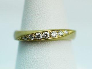 K18(6:4)イエローゴールド ツヤ消し(マット仕上げ)の結婚指輪