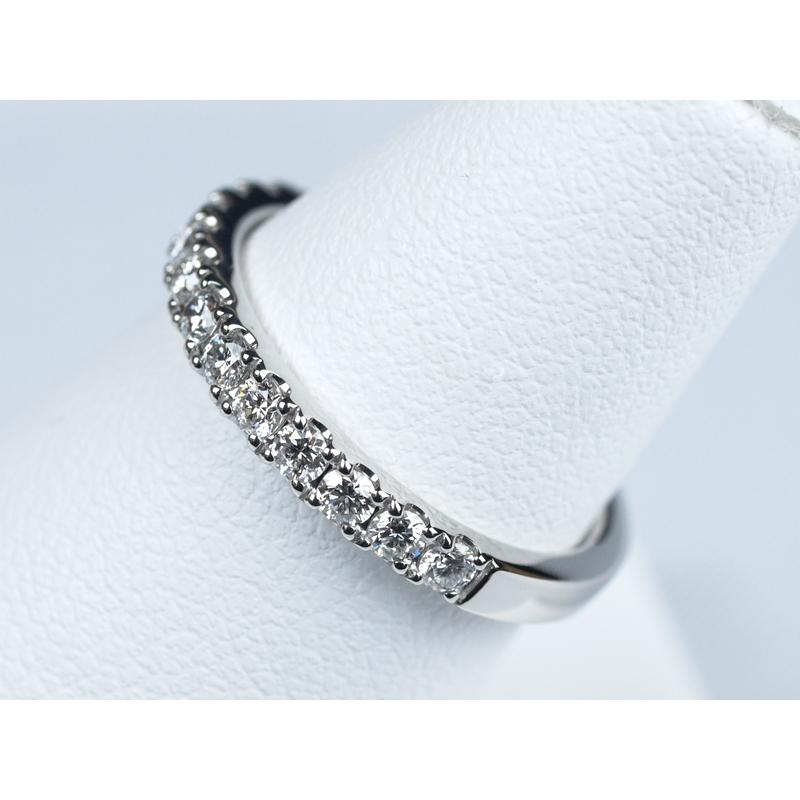 エタニティリング 結婚指輪 重ね付け