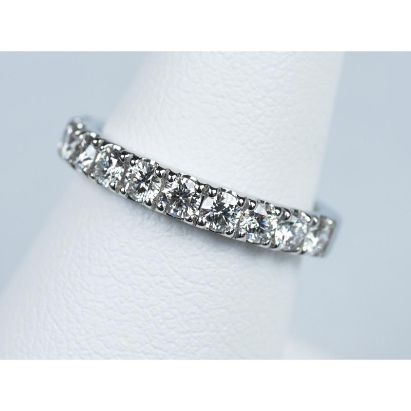 エタニティリング 合計0.55ctダイヤモンド プラチナ
