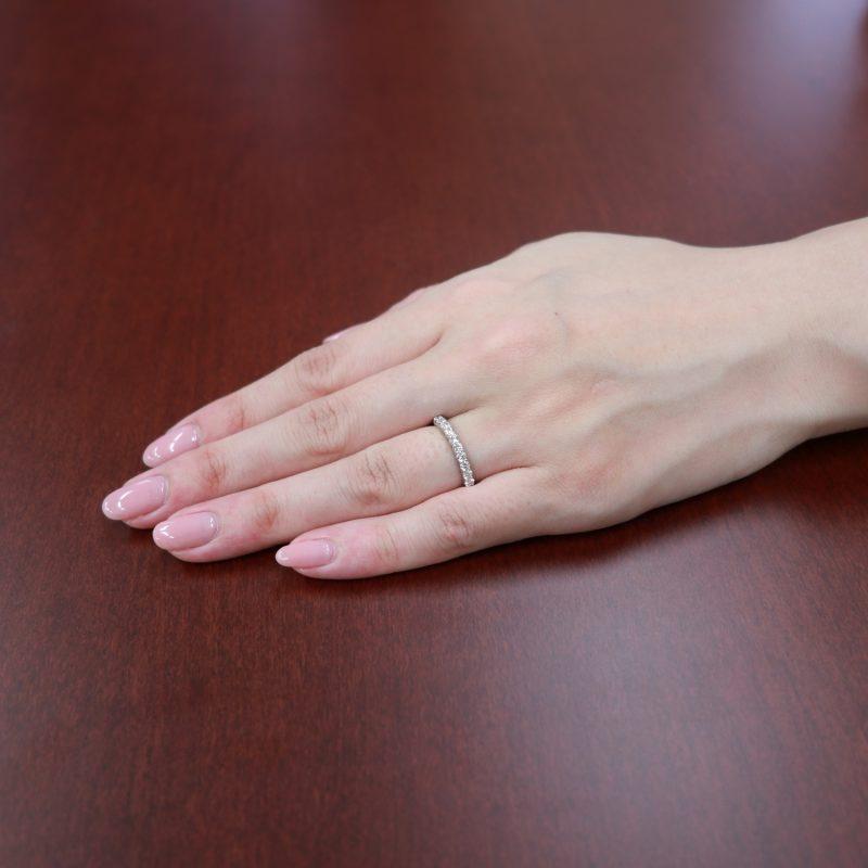 エタニティリング 0.36ctダイヤモンド プラチナ