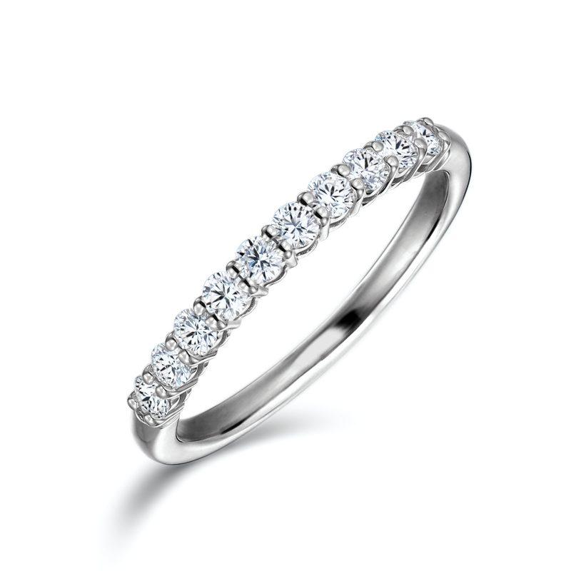 エタニティリング 0.33カラット ダイヤモンド プラチナ