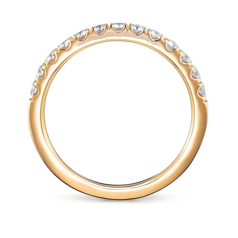 エタニティリング 合計0.32ctダイヤモンド ゴールド