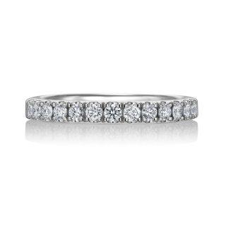 エタニティリング 合計0.32ctダイヤモンド プラチナ