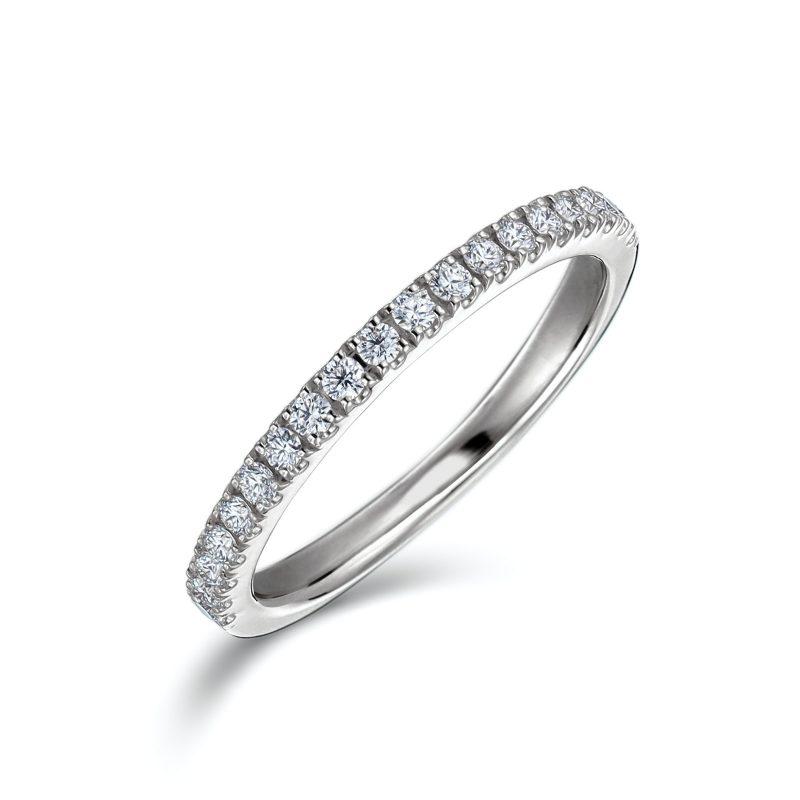 エタニティリング 合計0.20ctダイヤモンド プラチナ