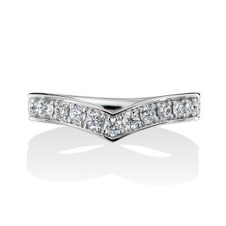 エタニティリング 0.45カラット ダイヤモンド プラチナ
