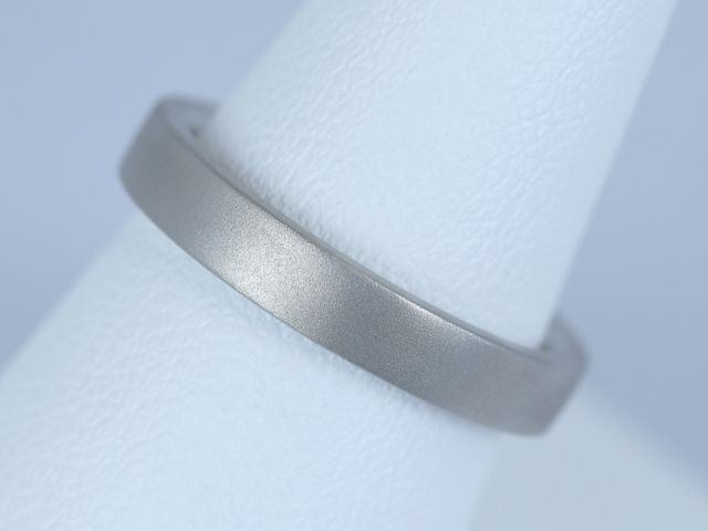 つや消し(マット)の結婚指輪