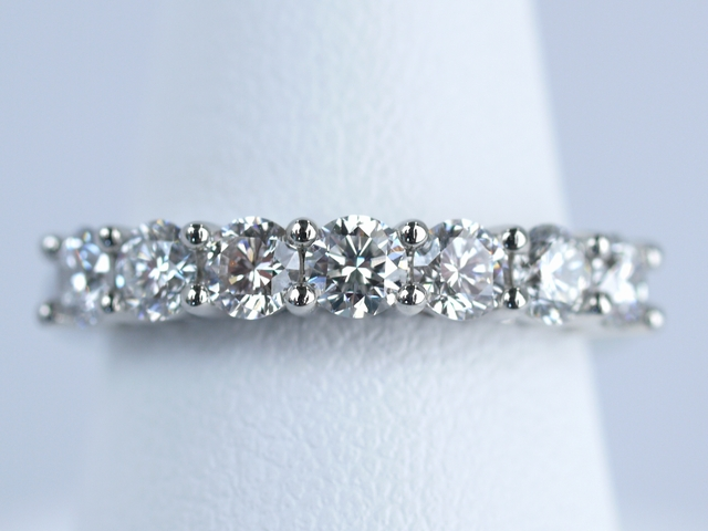 エタニティリング ダイヤモンド 合計0.81ct