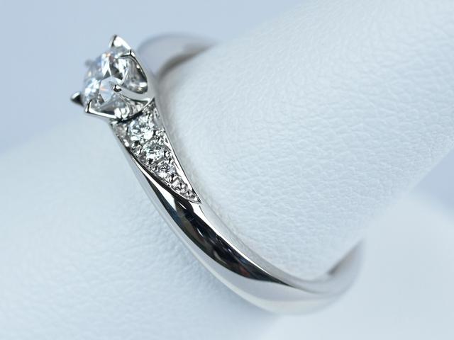 婚約指輪 0.3カラット オーダーメイド