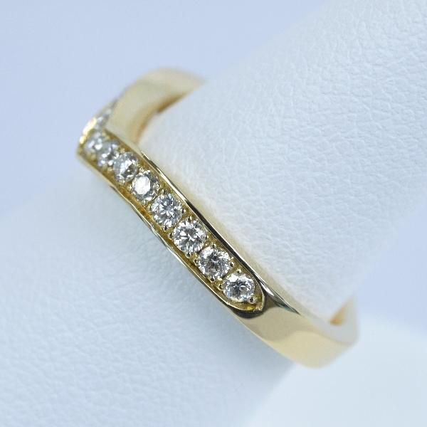 エタニティリング No3 婚約指輪と重ねづけしやすいデザイン ゴールド