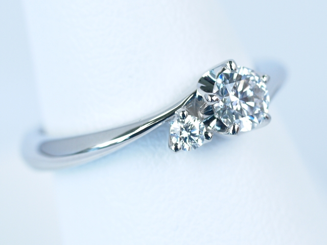 婚約指輪 5本の立て爪 オーダーメイド